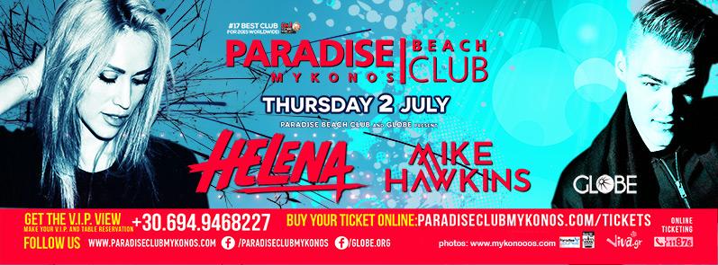 Paradise Beach Club's Full Moon Party on July 2
