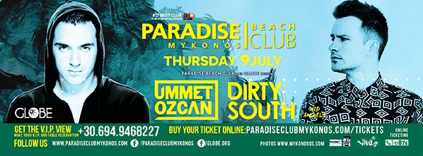 Ummet Ozcan & Dirty South @ Paradise Club
