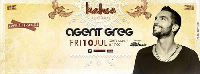 Agent Greg is back at Kalua bar on July 10