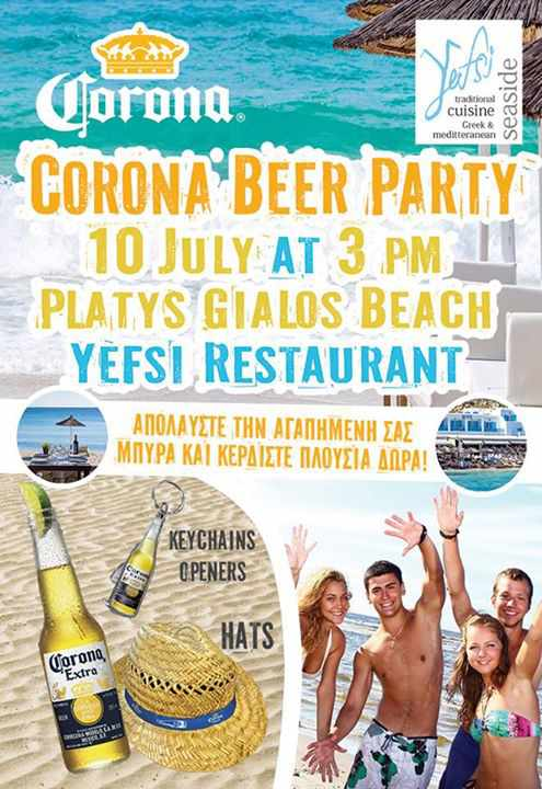 Yefsi Restaurant & Corona Beer Party