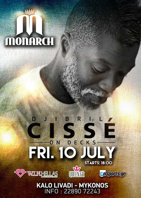 Djibril Cisse will spin at Monarch Beach Club on July 10
