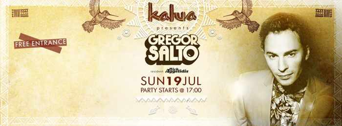 Gregor Salto appears at Kalua on July 19!