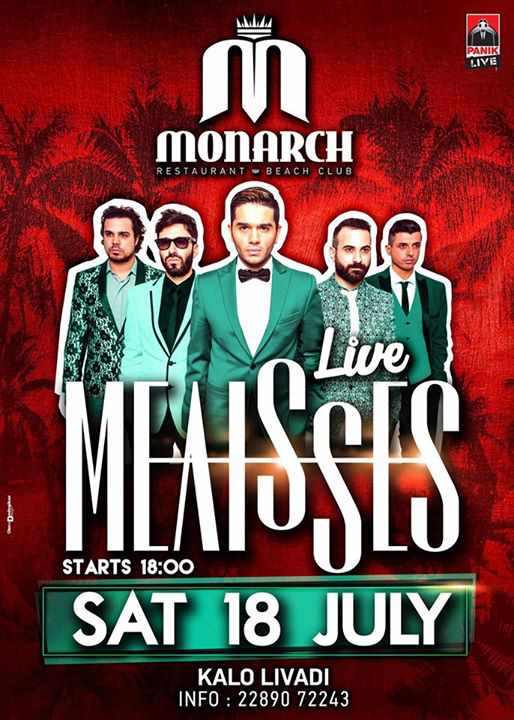 Melisses performs live at Monarch beach club on July 18